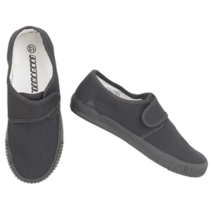 Children's School Velcro Plimsolls